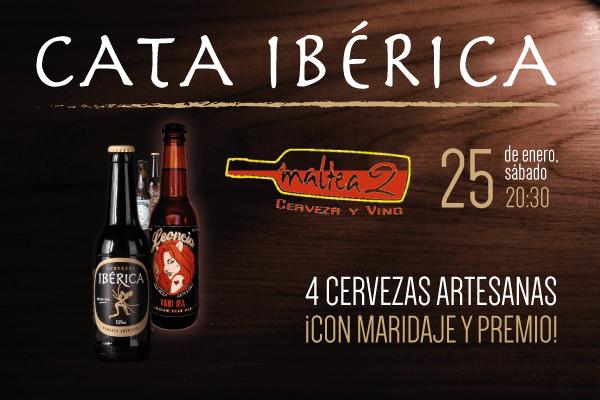 Cata Ibérica el día 25 de enero en Maltea2 (Alcorcón). ¡Apúntate!